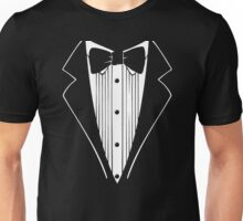 Hot Funny TUXEDO Wedding Groom Prom Bow Unisex T-Shirt