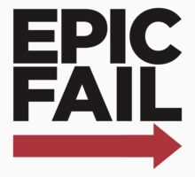 EPIC FAIL ARROW by mioneste