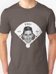 Yogi Berra Baseball Star 1925-2015 T-Shirt