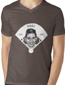 Yogi Berra Baseball Star 1925-2015 Mens V-Neck T-Shirt