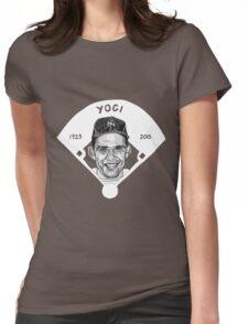 Yogi Berra Baseball Star 1925-2015 Womens Fitted T-Shirt