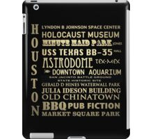 Houston Texas Famous Landmarks iPad Case/Skin