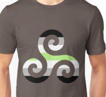 Agender Pride Teen Wolf Triskelion Unisex T-Shirt