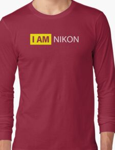 I AM NIKON Long Sleeve T-Shirt