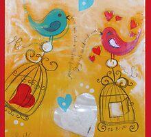 Lovebirds by Shona Baxter