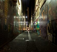 Down the Alley by Allen Gray