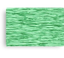 Fractal Noise Green Swirl Canvas Print