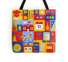 Colorful Education Concept Tote Bag