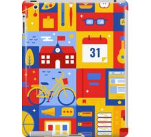 Colorful Education Concept iPad Case/Skin
