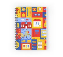 Colorful Education Concept Spiral Notebook