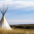 Blackfoot Teepee by Alyce Taylor