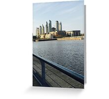 Puerto Madero. Greeting Card