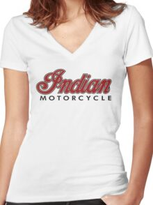 Cruiser Motorcycles Women's Fitted V-Neck T-Shirt
