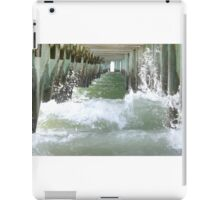 Pier over troubled water iPad Case/Skin