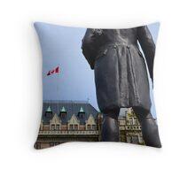 Captain Cook Throw Pillow