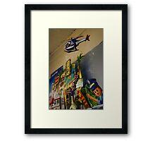 Big Time Rescue Framed Print