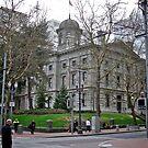 Pioneer Courthouse - Portland, Oregon by Jack McCabe