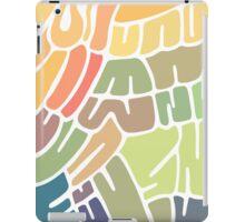 Random shapes iPad Case/Skin