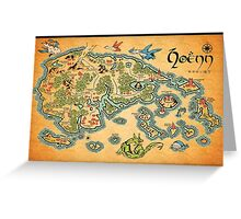 Hoenn Map Greeting Card