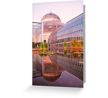 Como Reflections at Sunset Greeting Card