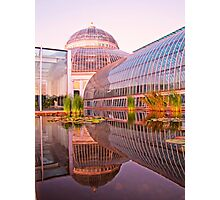 Como Reflections at Sunset Photographic Print