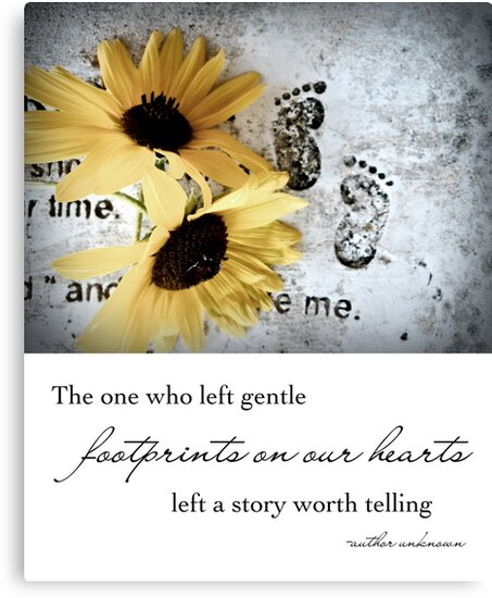 Footprints on our Hearts by Franchesca Cox
