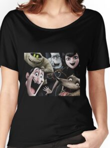 the characters of hotel transylvania 2 Women's Relaxed Fit T-Shirt