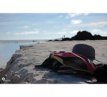 Stuffs and Sand Photographic Print