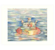 castle island Art Print