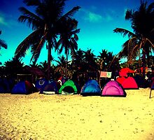 Tents in lomo by iamYUAN