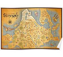 Sinnoh Map Poster