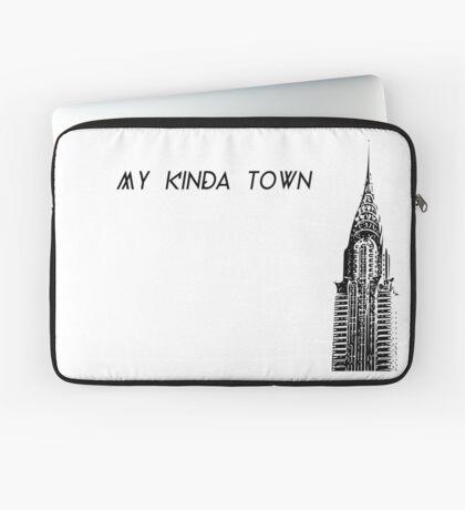 My Kind of Town: New York, Chrysler Building Laptop Sleeve