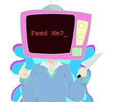 Media Girl- Feed Me by CaptainBitty