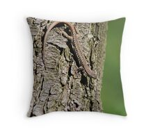 Morning Stroll - Cincinnati Zoo Throw Pillow