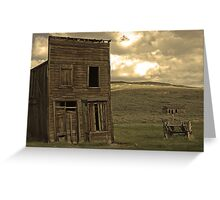 Bodie California 3 Greeting Card