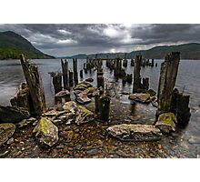 Loch Ness, the Search for Nessie Photographic Print