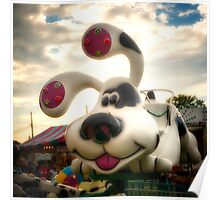 Doggy Carnival Ride Poster