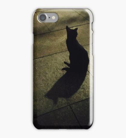 Black cat. iPhone Case/Skin
