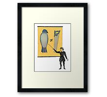 Hamlet's Weather Report Framed Print