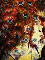 Miss Peacock by Gal Lo Leggio