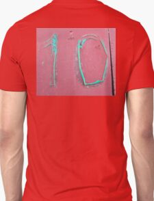 10, NUMBER 10, Ten, Tenth, turquoise, pink, T-Shirt