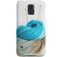 Wool and Knitting Needles Samsung Galaxy Case/Skin