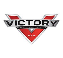 Victory motorcycles Photographic Print