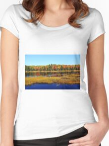 Fall Marsh Women's Fitted Scoop T-Shirt