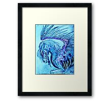 as my wings decay Framed Print