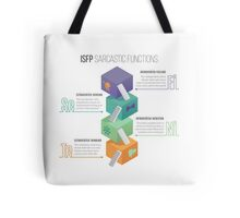 ISFP Sarcastic Functions Tote Bag