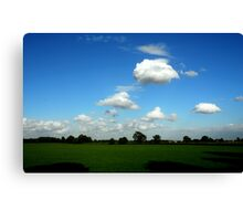 """CLOUDS"" Canvas Print"