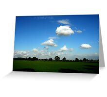 """""""CLOUDS"""" Greeting Card"""