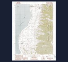 USGS Topo Map California Willow Ranch 295809 1990 24000 Kids Tee