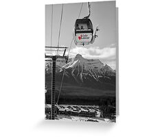 Lake Louise Resort Greeting Card